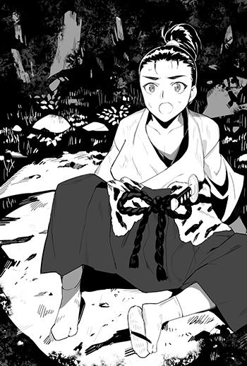 久次郎が偶然出会った相手、それは「尾張のうつけ」と呼ばれるあの……